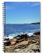 Coastline At Otter Point 5 Spiral Notebook