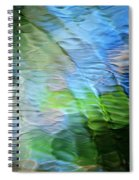 Coastline Mosaic Abstract Art Spiral Notebook
