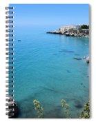 Coastline Of Nerja-spain Spiral Notebook