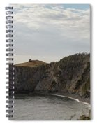 Coastline Of Skerwink Trail, Trinity, Newfoundland, Canada  Spiral Notebook