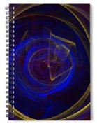 Cobalt Blue Spiral Notebook