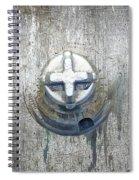 Cobalt Cat Spiral Notebook