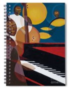 Cobalt Jazz Spiral Notebook