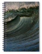 Cobalt Wave Spiral Notebook