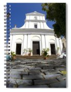 Cobblestone And Cathedral  Spiral Notebook