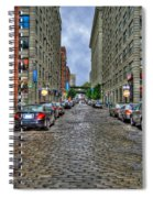 Cobblestone Brooklyn From Dumbo Spiral Notebook