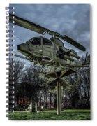 Cobra Helicopter Bristol Va Spiral Notebook