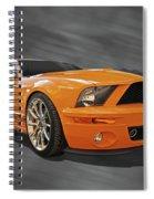 Cobra Power - Shelby Gt500 Mustang Spiral Notebook