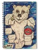 Coca Cola Bear Spiral Notebook