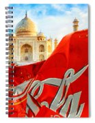Coca-cola Can Trash Oh Yeah - And The Taj Mahal Spiral Notebook