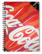 Coca Cola Fan Art Spiral Notebook