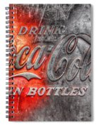 Coca Cola Spiral Notebook
