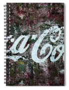 Coca Cola Wall Spiral Notebook