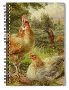 Cochin China Fowls Spiral Notebook