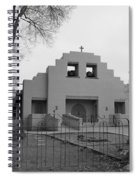 Cochiti Church Spiral Notebook