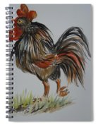 Cock-a-doodle-do Spiral Notebook