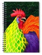 Cock A Doodle Dude II Spiral Notebook