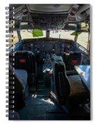 Cockpit Spiral Notebook