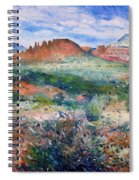 Cockscomb Butte Sedona Arizona Usa 2003  Spiral Notebook