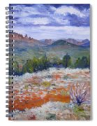 Cockscomb Butte West Sedona Arizona Usa 2002  Spiral Notebook