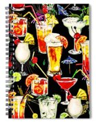 Cocktail Hour In The Tropics Spiral Notebook