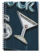 Cocktails Spiral Notebook