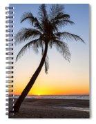Coco Mo Tropical Sunrise Spiral Notebook