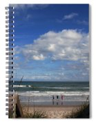 Cocoa Beach Florida Spiral Notebook