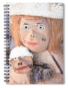 Coconut Family Spiral Notebook