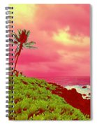 Coconut Palm Makai For Pele Spiral Notebook