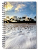 Coconut Rush Spiral Notebook