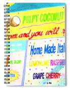 Coconut Shakes Spiral Notebook