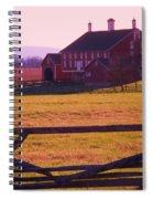 Codori Barn Gettysburg Spiral Notebook