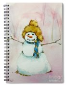 Cody's First Frosty Spiral Notebook