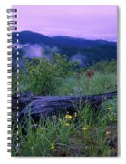 Coeur D'alene Mountains Spiral Notebook