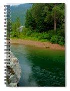 Coeur D'alene River Spiral Notebook