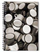 Coffe Cups 2 Spiral Notebook