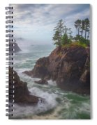 Coffee Along The Coast Spiral Notebook