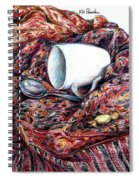 Coffee And Cashmere Spiral Notebook