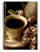 Coffee And Lilacs In The Morning Spiral Notebook