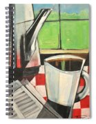 Coffee And Morning News Spiral Notebook
