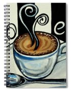 Coffee At The Cafe Spiral Notebook