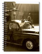 Coffee Cab Spiral Notebook