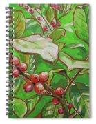 Coffee Cherries Spiral Notebook
