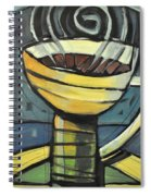 Coffee Cup Three Spiral Notebook