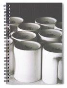 Coffee Cups- By Linda Woods Spiral Notebook