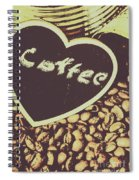 Coffee Heart Spiral Notebook