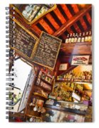 Coffee House Spiral Notebook