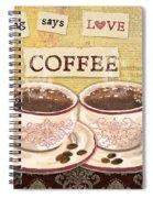 Coffee Love-jp3592 Spiral Notebook