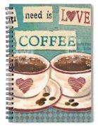 Coffee Love-jp3593 Spiral Notebook